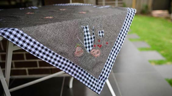 imported melbourne table linen